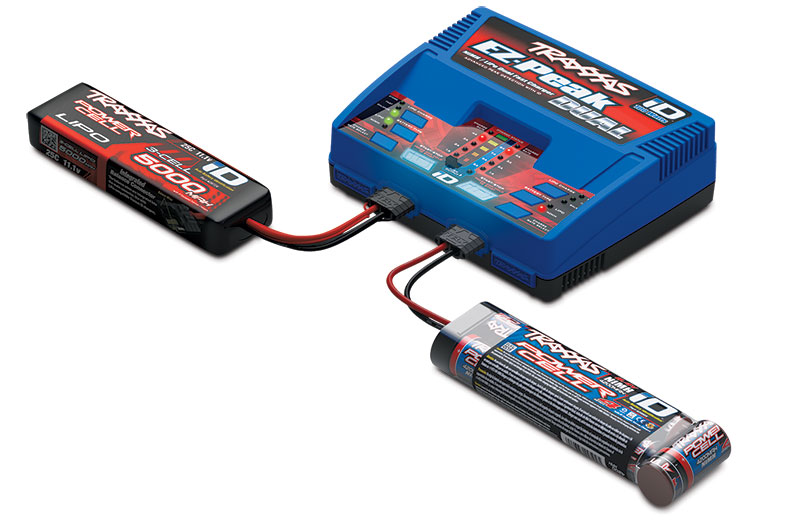 Charge two Traxxas iD batteries simultaneously!