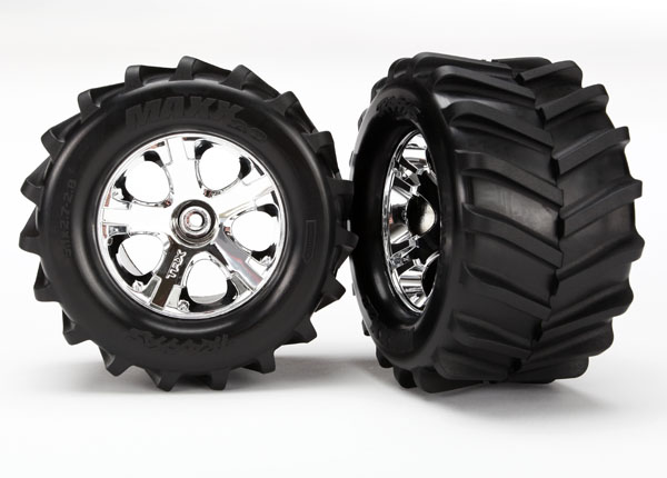 All-Star wheels with Chevron Maxx tires