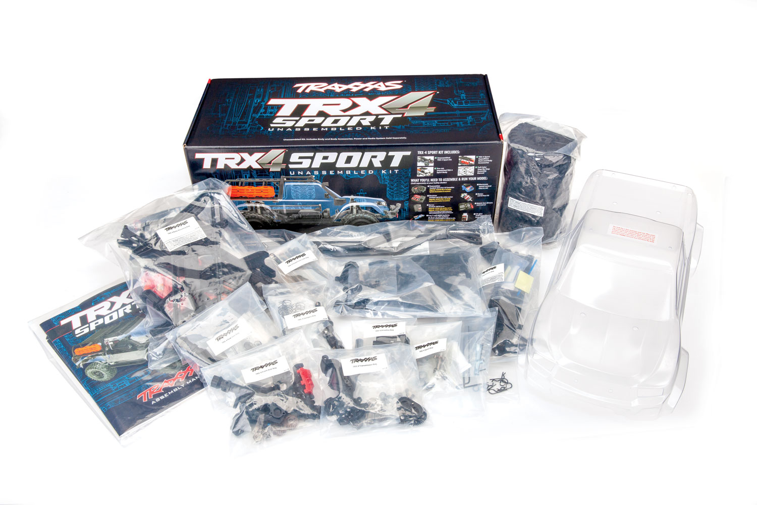 TRX-4 Kit contents