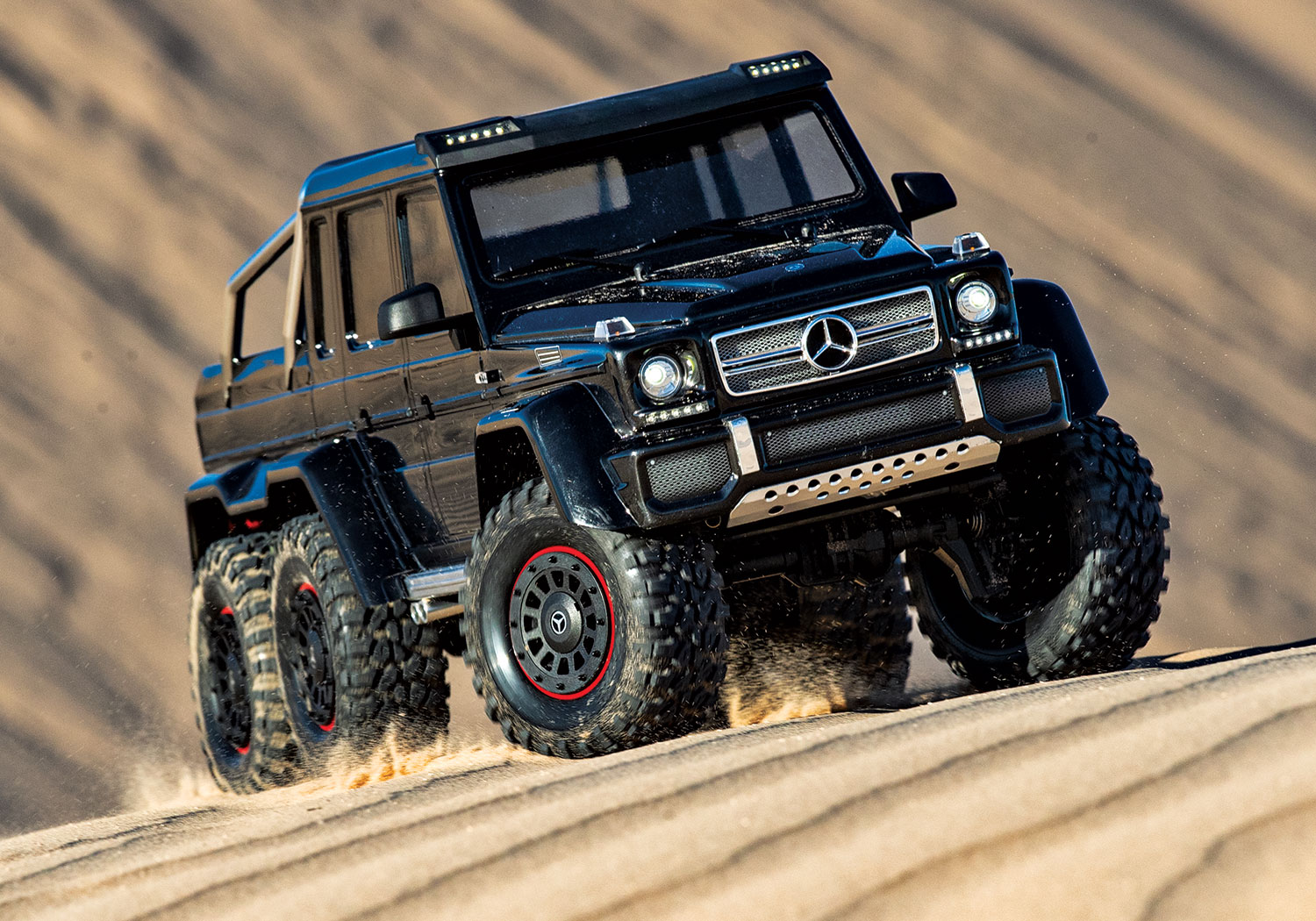 Mercedes-Benz G 63 AMG 6x6 Black Dunes