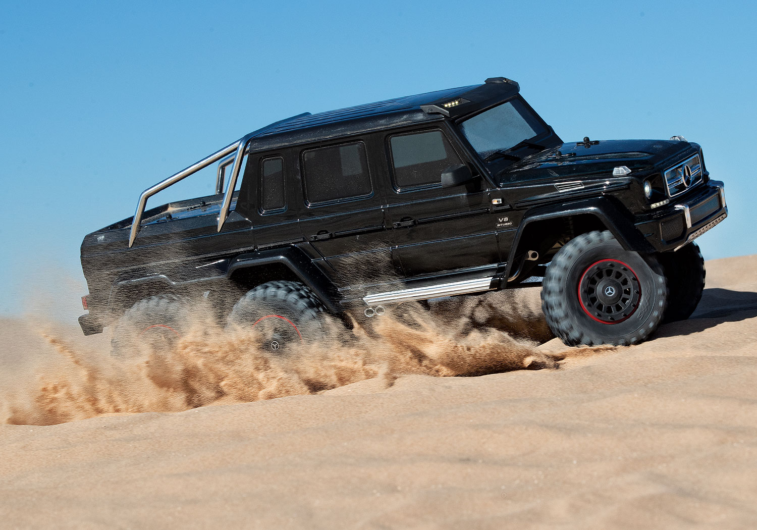 TRX-4 AMG 6x6 Black Dunes Right