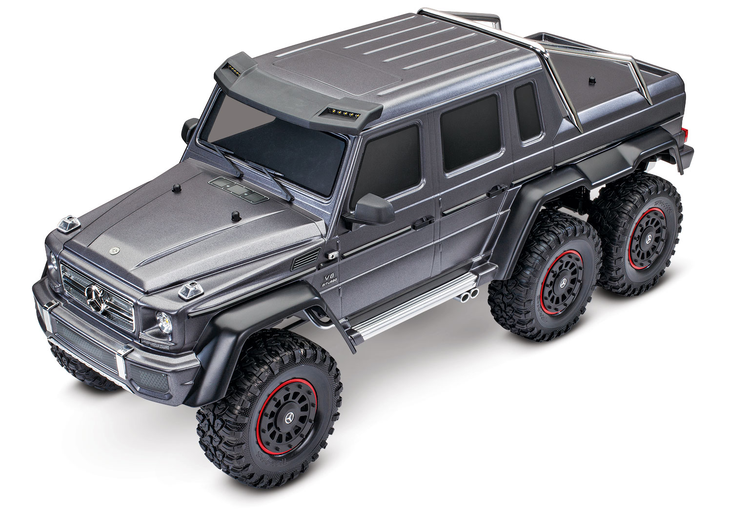 TRX-4 6x6 Exceptional Body Detail