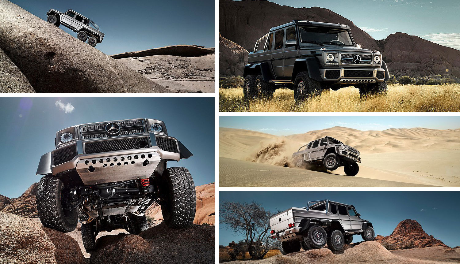 Traxxas TRX-4 Mercedes-Benz G 63 AMG 6x6 - Model News - MSUK