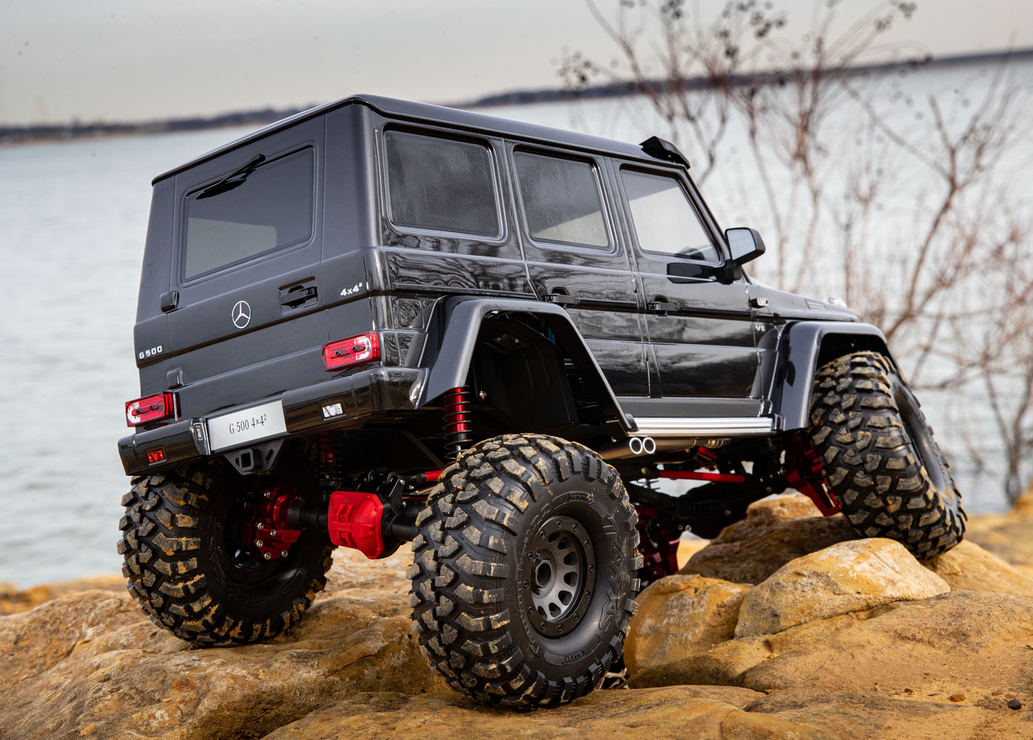 Modified TRX-4 hits the trail