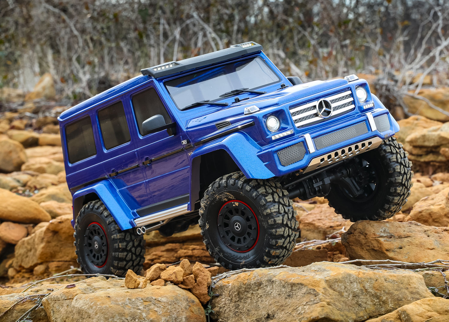 Blue modified TRX-4 G 500