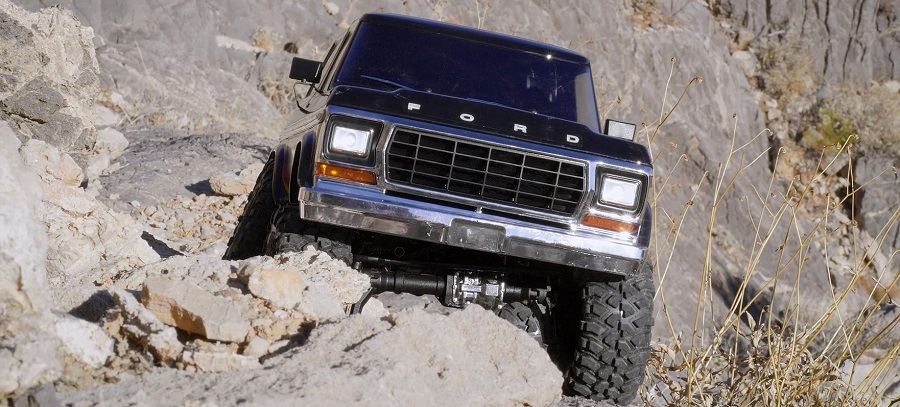 TRX-4 Ford Bronco hill climb