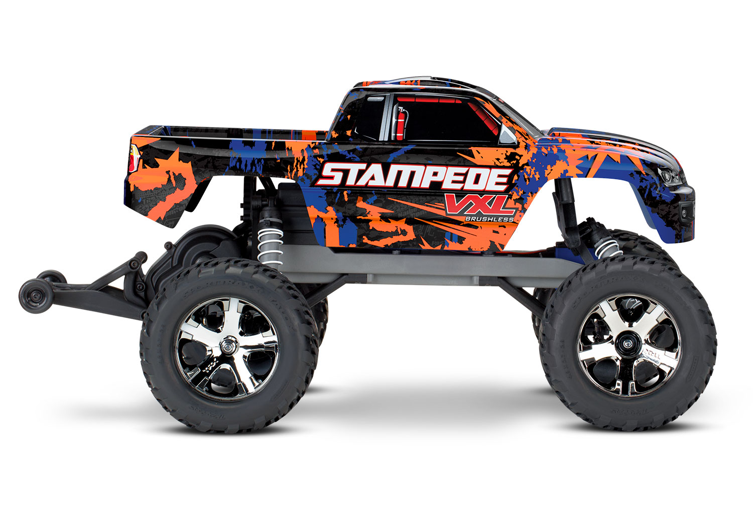 Orange Stampede side view