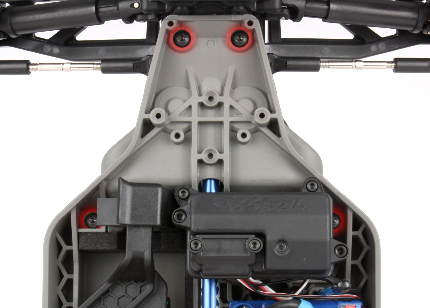 Secure the front suspension module