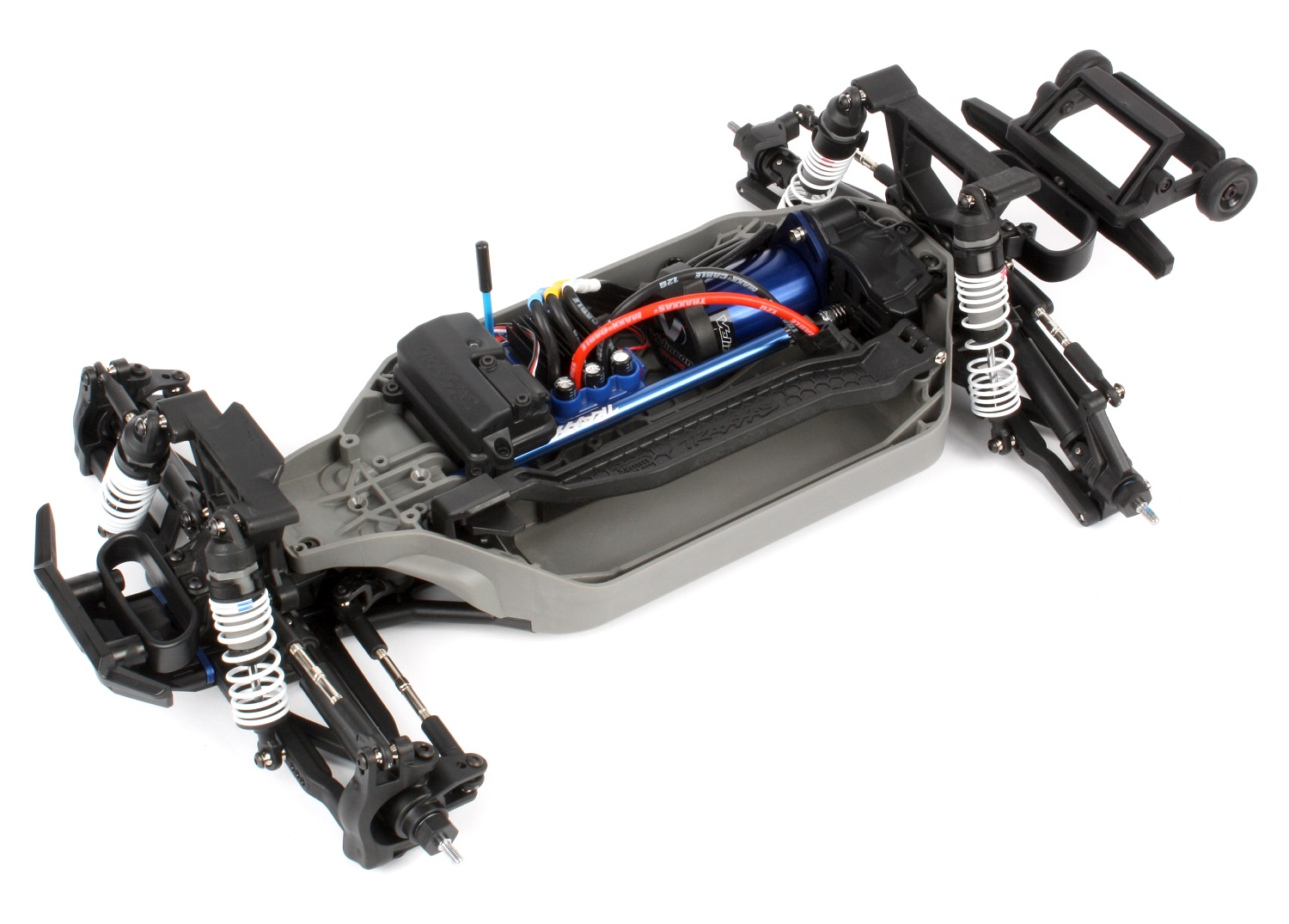 Completed chassis