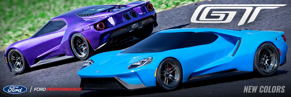 Two new Ford GT colors