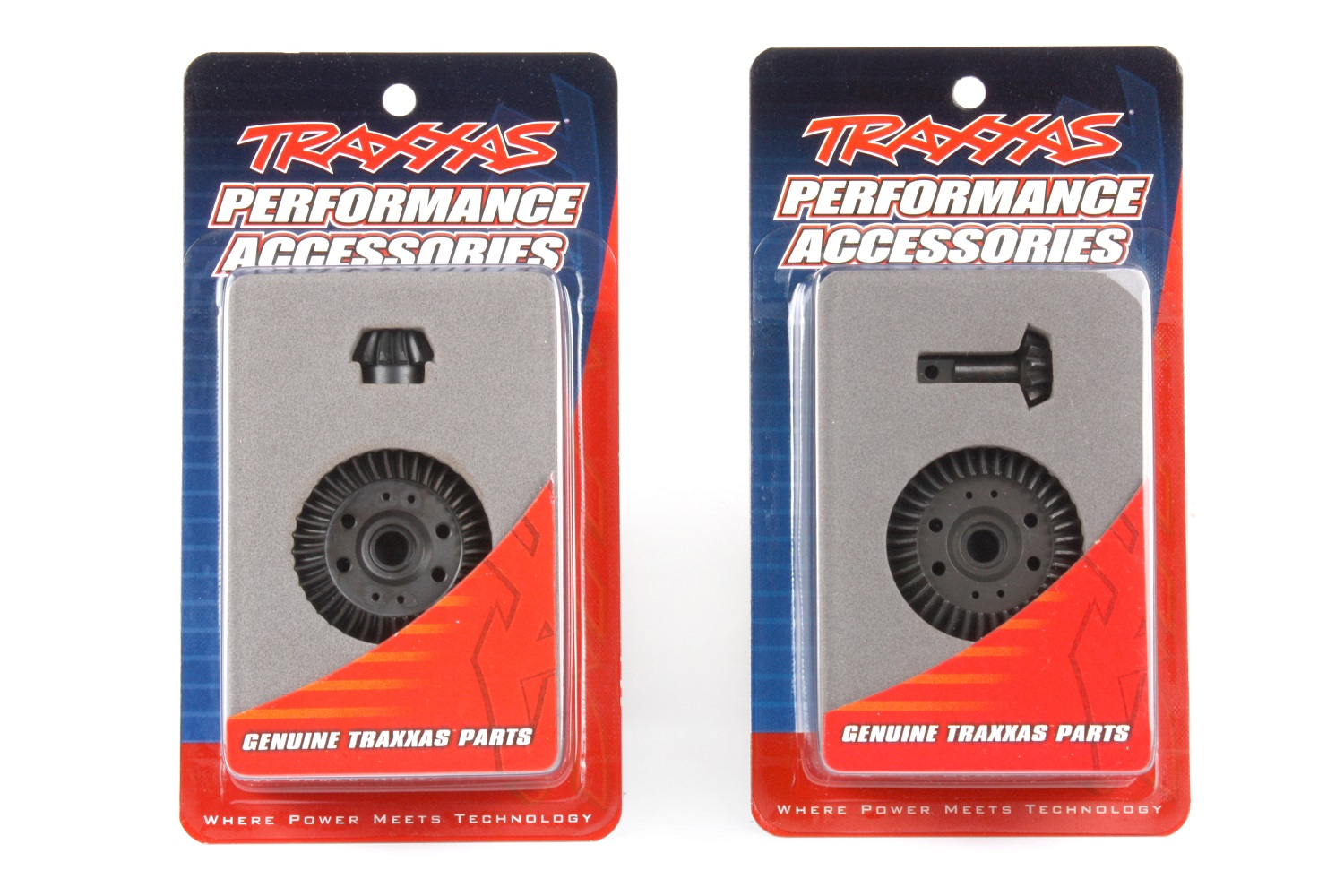 The ring and pinion gears are sold in front and rear sets