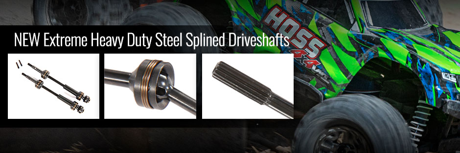 Steel Splined Driveshafts