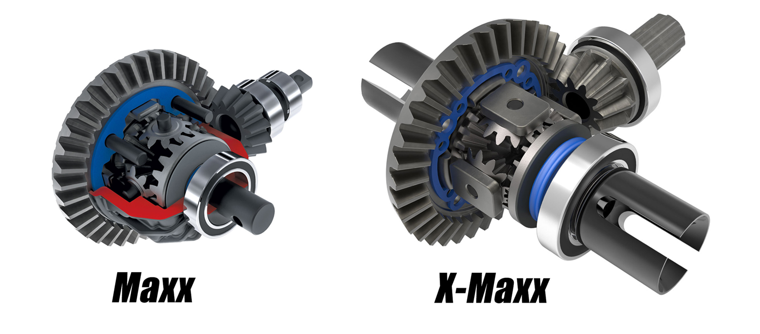 Steel Gear, Silicone-Filled Differentials