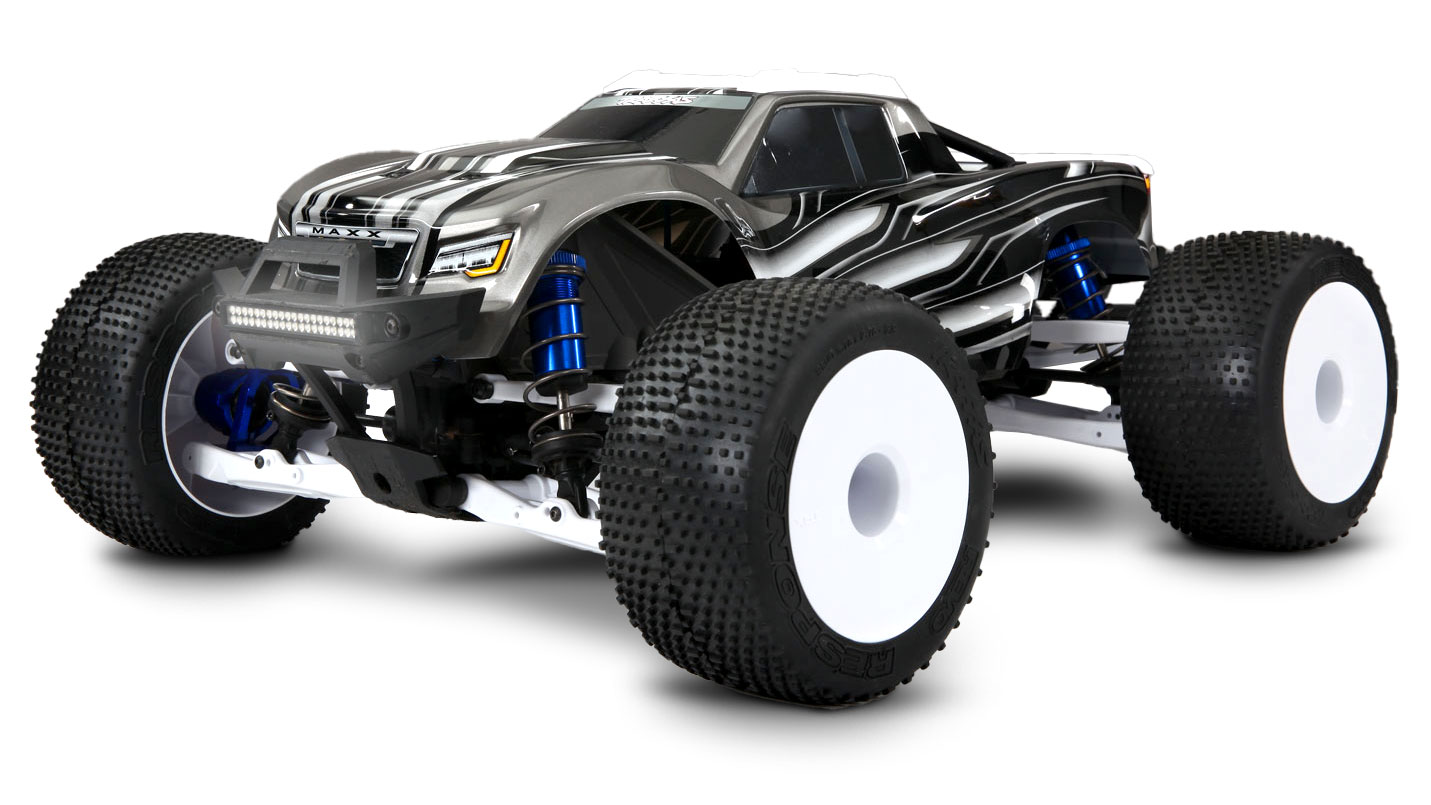 Traxxas Maxx Downhill Freestyle Run Traxxas The traxxas resonator aluminum tuned pipe for maxx trucks is specifically engineered to boost performance. traxxas maxx downhill freestyle run
