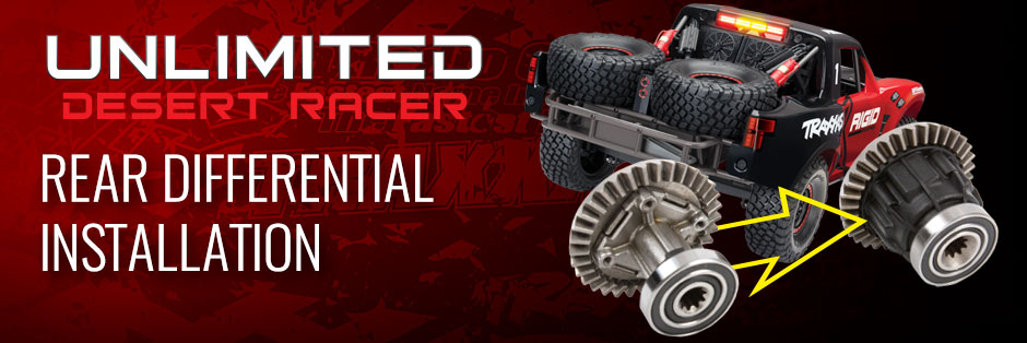 UDR rear differential installation