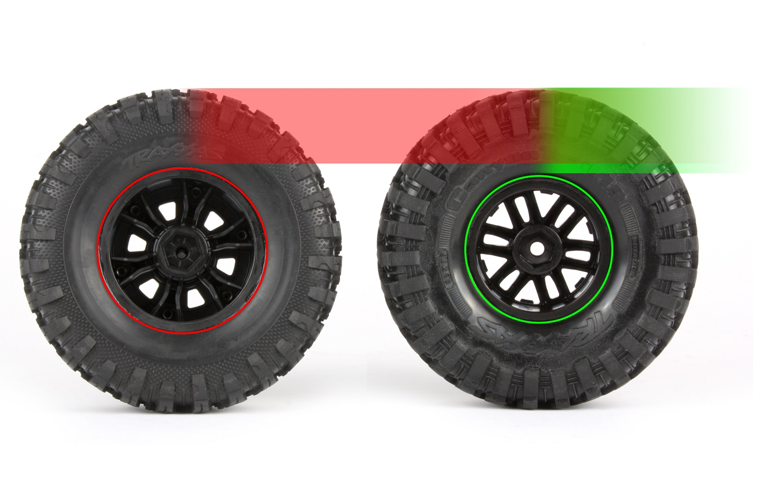 Canyon Trail tires have higher sidewalls