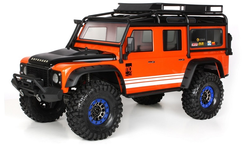 Adding Traxxas Accessories to the TRX-4 Defender