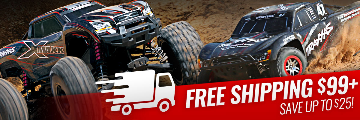 Free Shipping From Traxxas