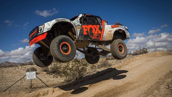 Lofton #41 Fox trophy truck