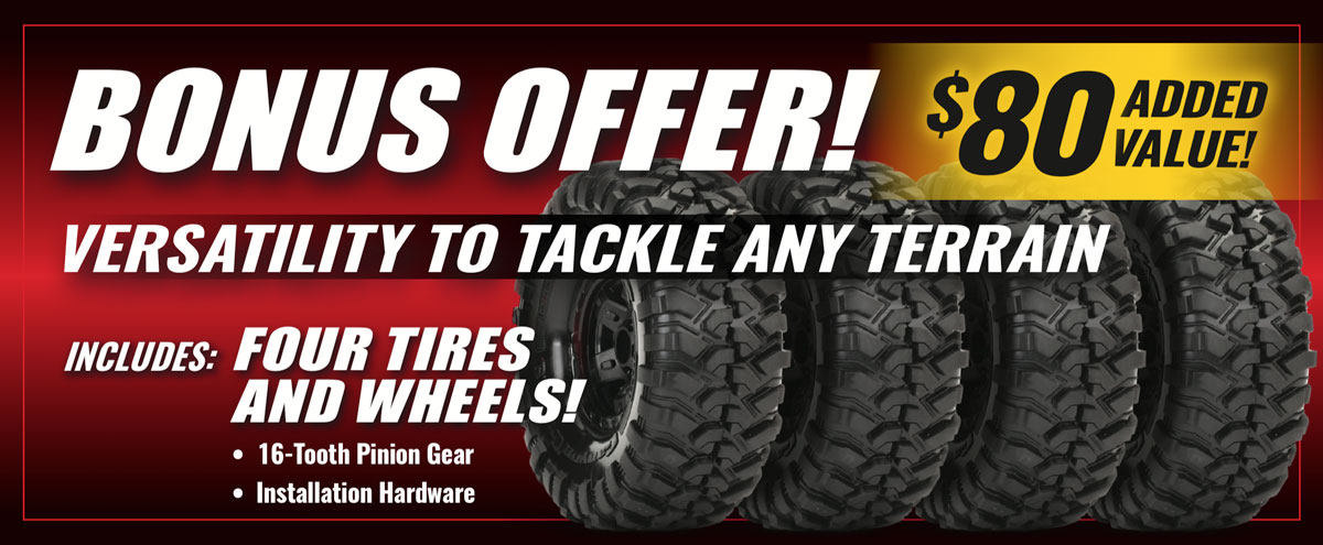 Bonus Tire Offer