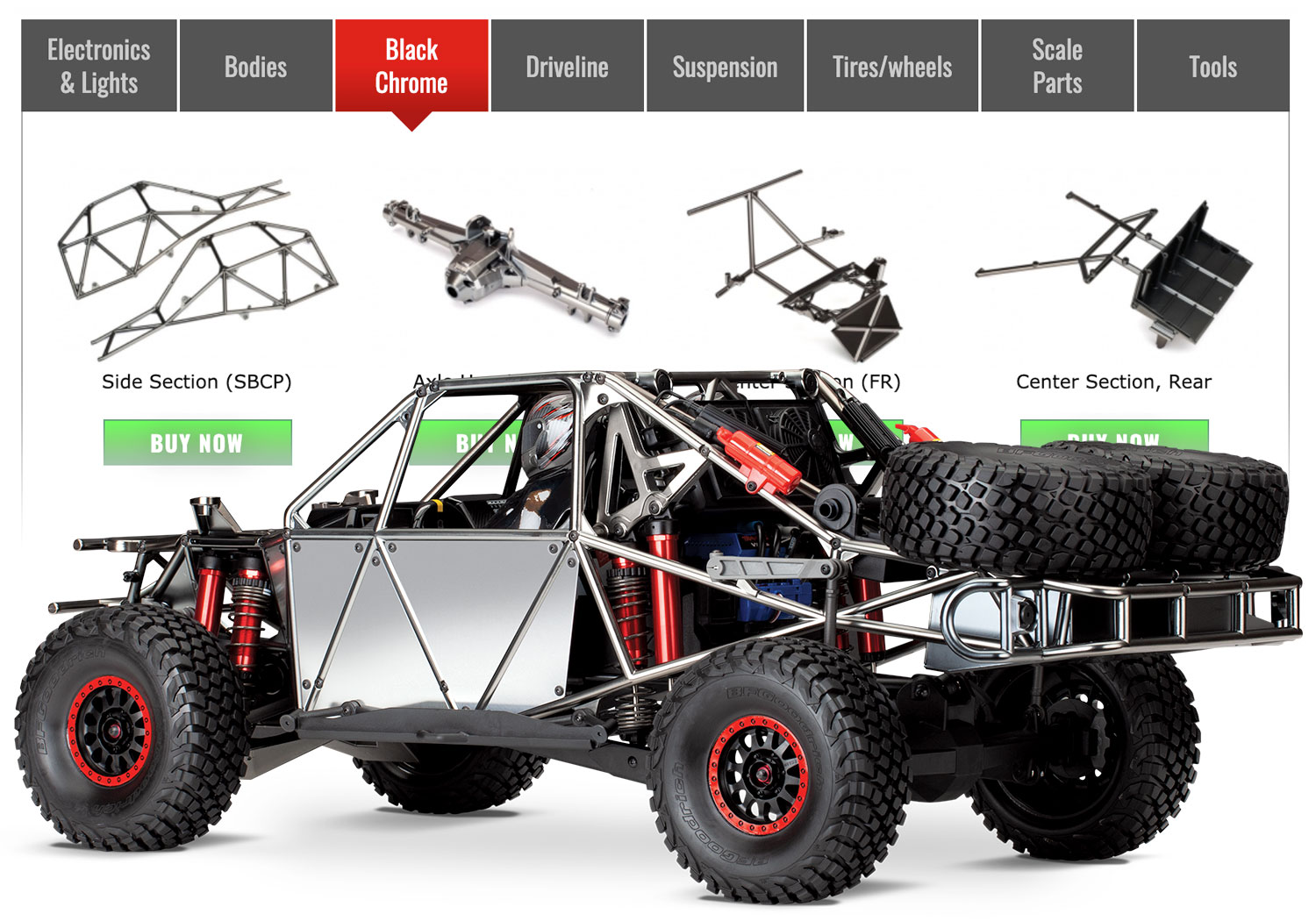 Traxxas Accessories Guides