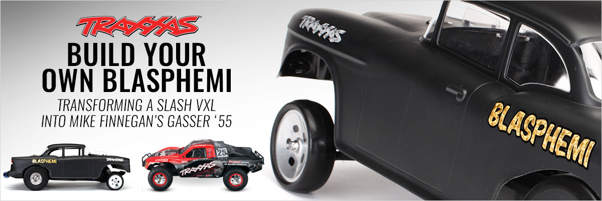 How to Transform a Traxxas Slash VXL into a Mike Finnegan Custom Gasser